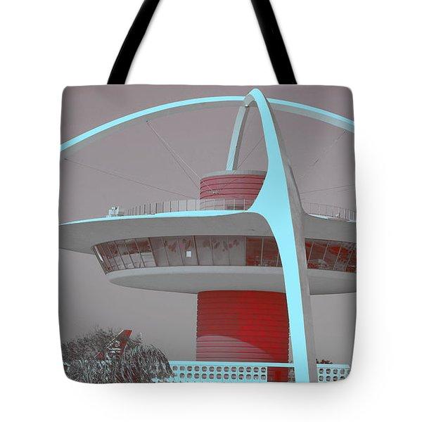 Retro Spaceship Aka La Airport Tote Bag