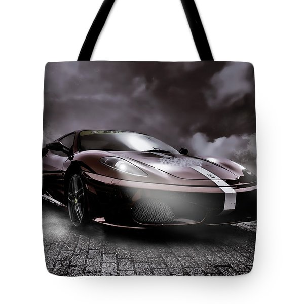 Retro Sports Car - Formule 1 Tote Bag