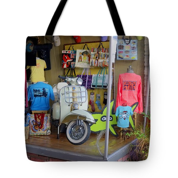 Retro Storefront Tote Bag