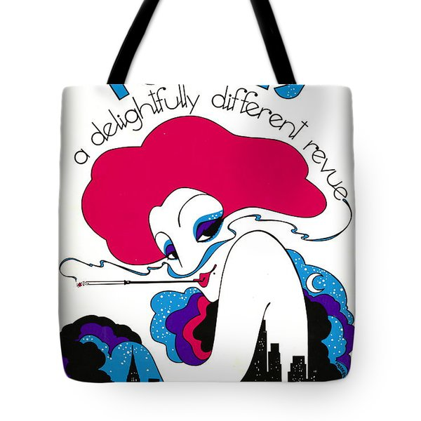 Tote Bag featuring the photograph Retro Theater Poster 1979 by Padre Art