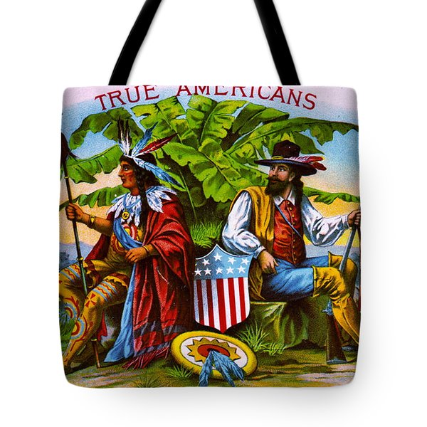 Tote Bag featuring the photograph Retro Tobacco 1885 by Padre Art