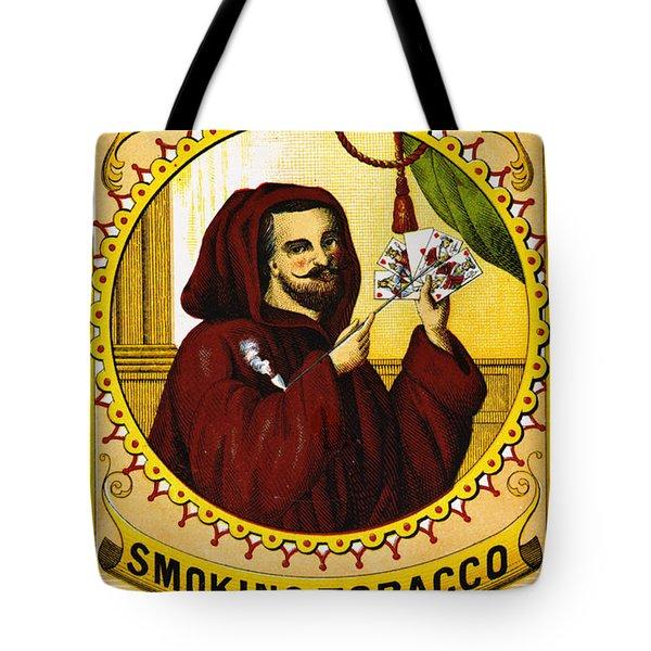 Retro Tobacco Label 1869 C Tote Bag