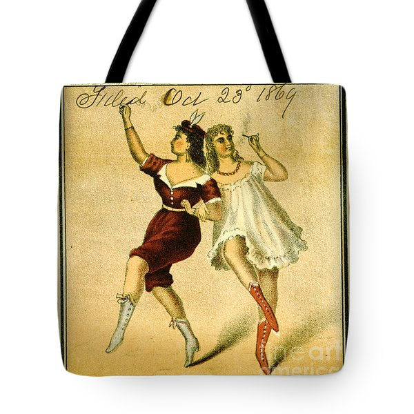 Tote Bag featuring the photograph Retro Tobacco Label 1869 F by Padre Art