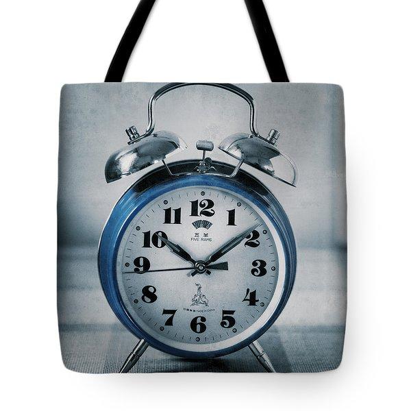 Retro Wake Up Tote Bag