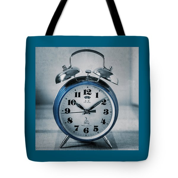 Retro Wake Up Tote Bag