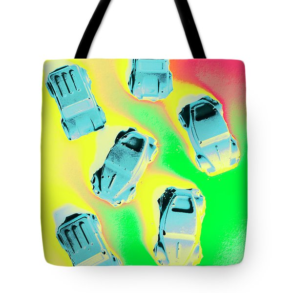 Retroactive Racing Tote Bag
