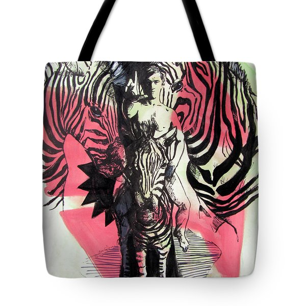 Return Of Zebra Boy Tote Bag