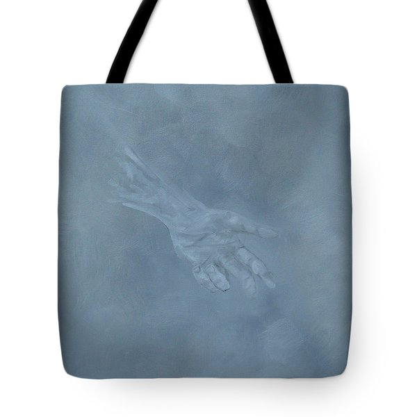 Tote Bag featuring the painting Return To Dust by Judith Rhue