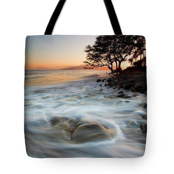 Return To The Sea Tote Bag by Mike  Dawson