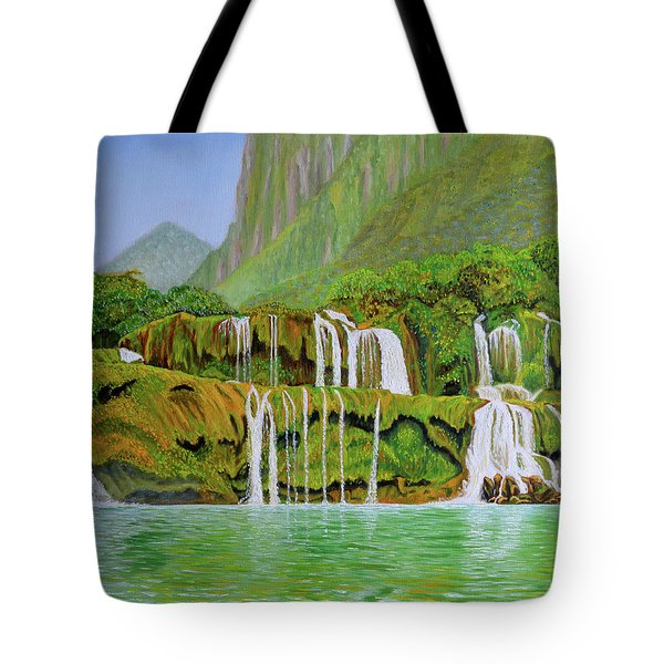 Returned To Paradise Tote Bag