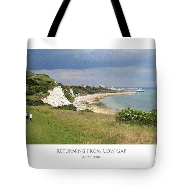 Returning From Cow Gap Tote Bag