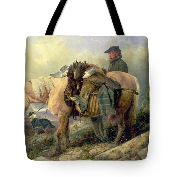 Returning From The Hill Tote Bag