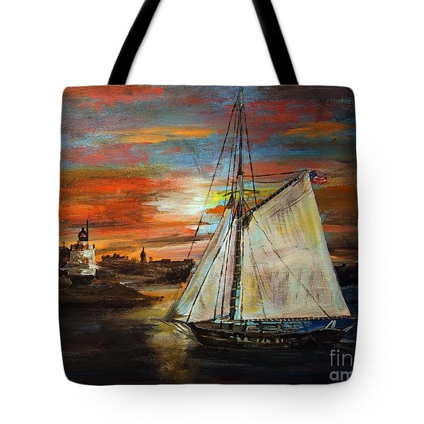 Returning Home Tote Bag