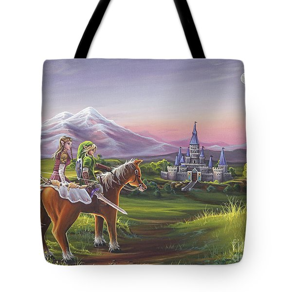 Returning Home Tote Bag by Joe Mandrick