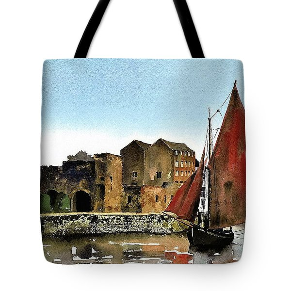 Returning Home To The Cladagh Tote Bag