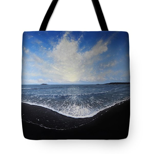 Returning Light Tote Bag by Paul Newcastle