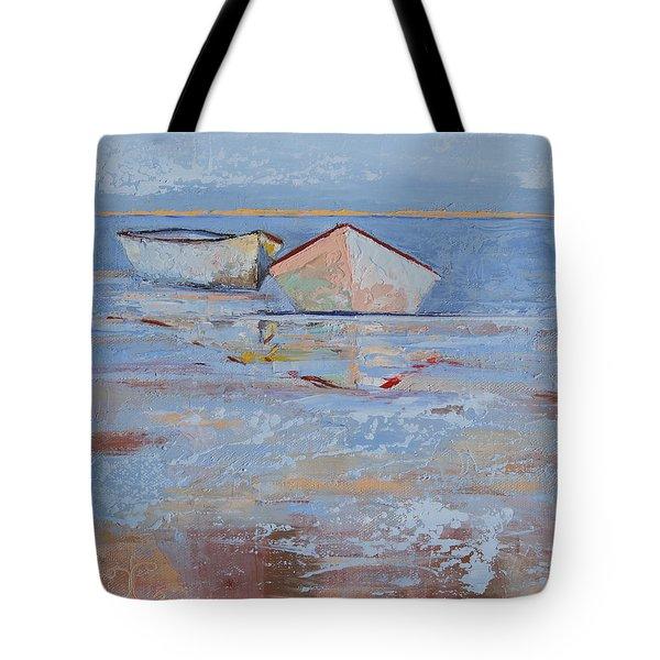 Returning Tides Tote Bag by Trina Teele