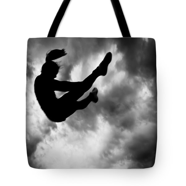 Tote Bag featuring the photograph Returning To Earth by Bob Orsillo