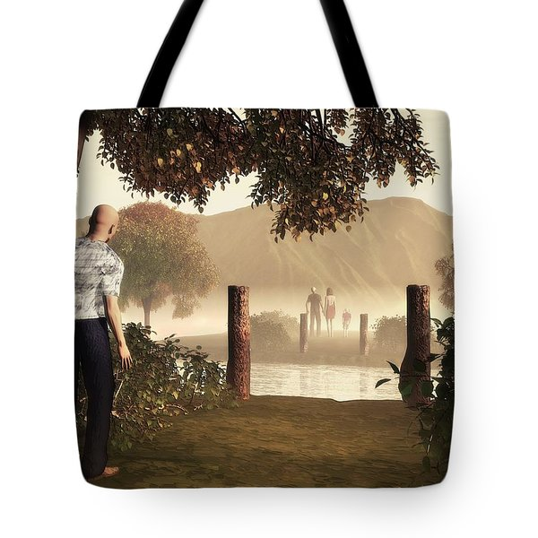 Returning To The Bridge That Burned Tote Bag