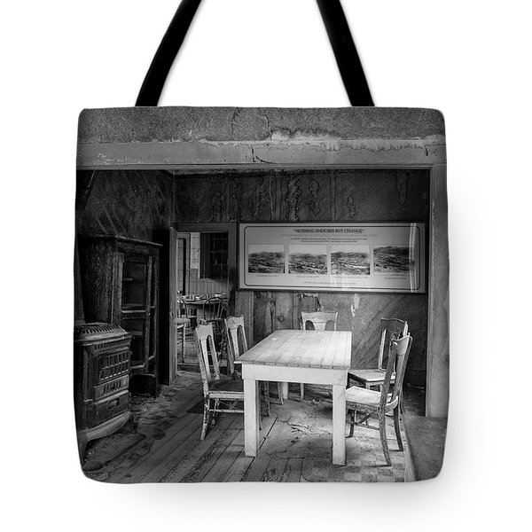 Tote Bag featuring the photograph Returning To The Past by Sandra Bronstein