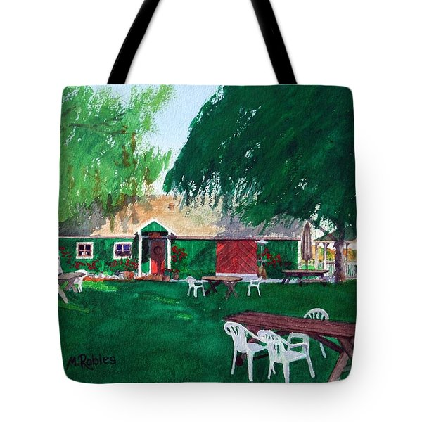 Retzlaff Winery Tote Bag by Mike Robles