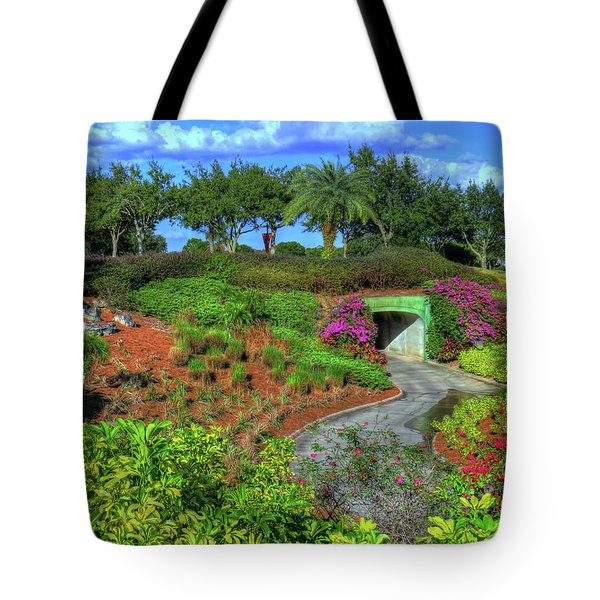 Tote Bag featuring the photograph Reunion Resort  by Tom Prendergast