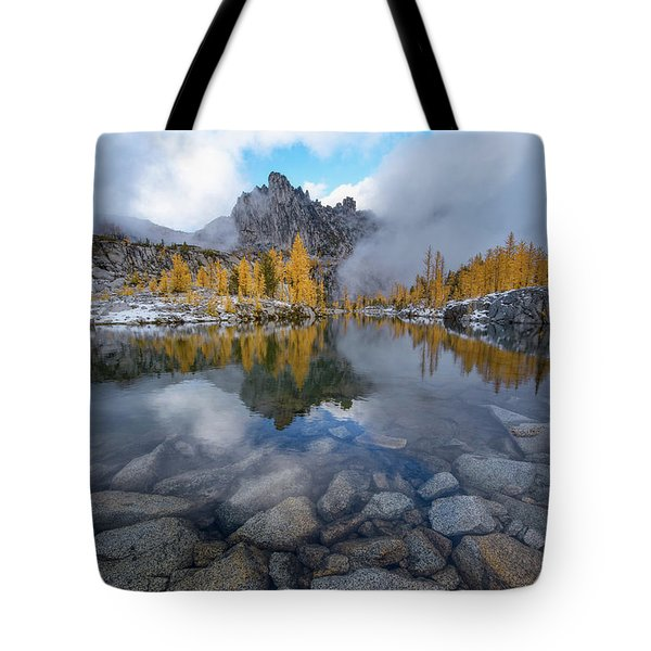 Revelation Tote Bag by Dustin LeFevre