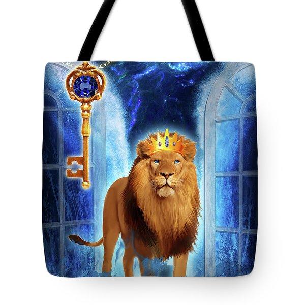 Revelation Gate Tote Bag