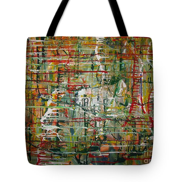 Tote Bag featuring the painting Revelation by Jacqueline Athmann
