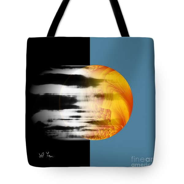 Tote Bag featuring the digital art Revelation by Leo Symon