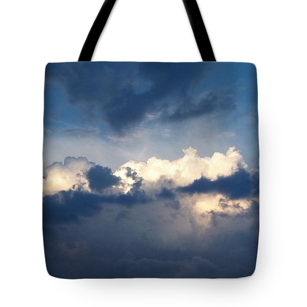 Revelation One-seven Tote Bag by Glenn McCarthy Art and Photography
