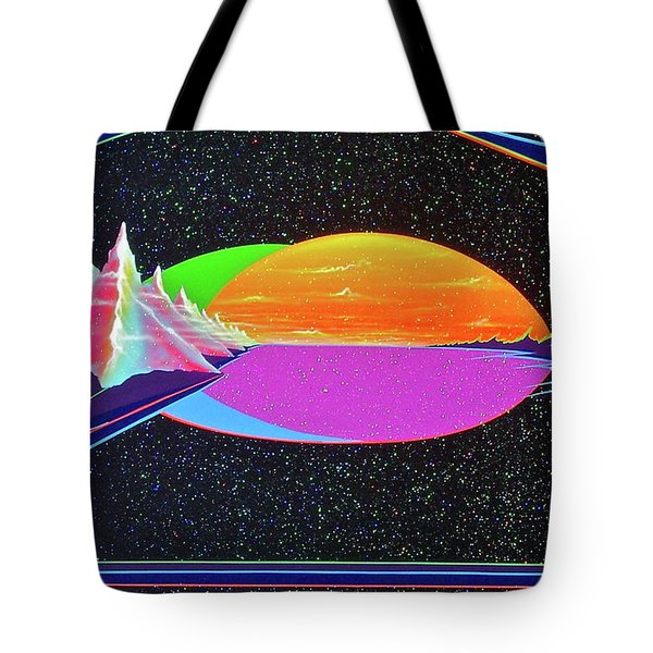 Revelations New Earth Tote Bag