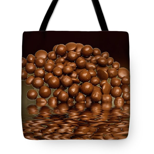 Tote Bag featuring the photograph Revels Chocolate Sweets by David French