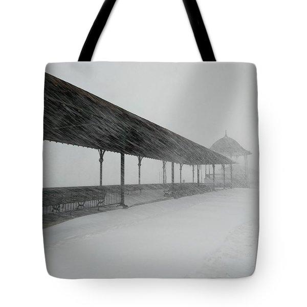 Revere Beach Nor'easter -jan 4,2018 Tote Bag
