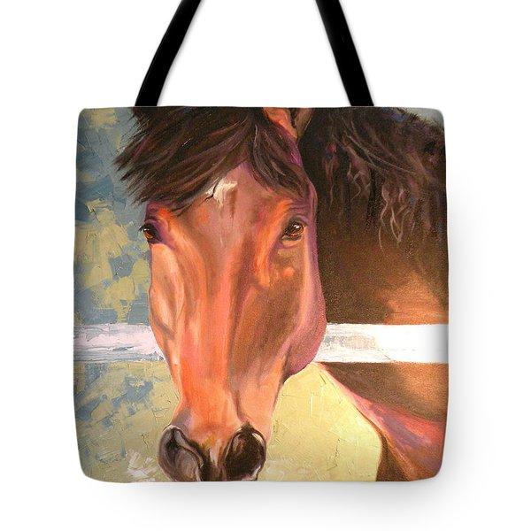Reverie - Quarter Horse Tote Bag