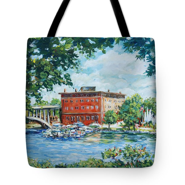 Rever's Marina Tote Bag by Alexandra Maria Ethlyn Cheshire