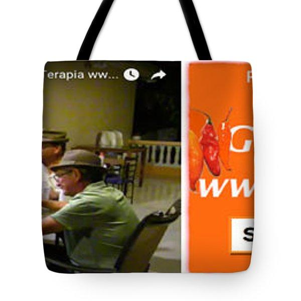 Revista Ajiterapia Tote Bag