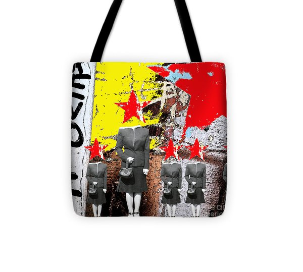Revolt Tote Bag by Gary Everson