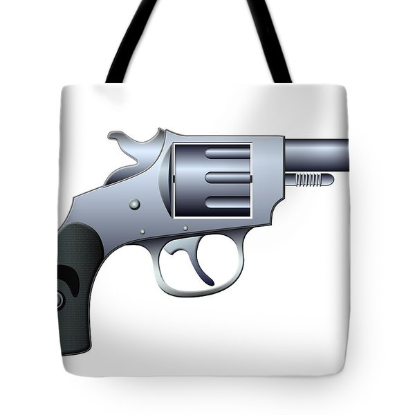 Revolver Tote Bag by Michal Boubin