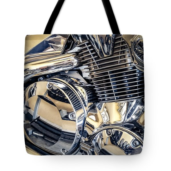 Tote Bag featuring the photograph Revved by Todd Blanchard