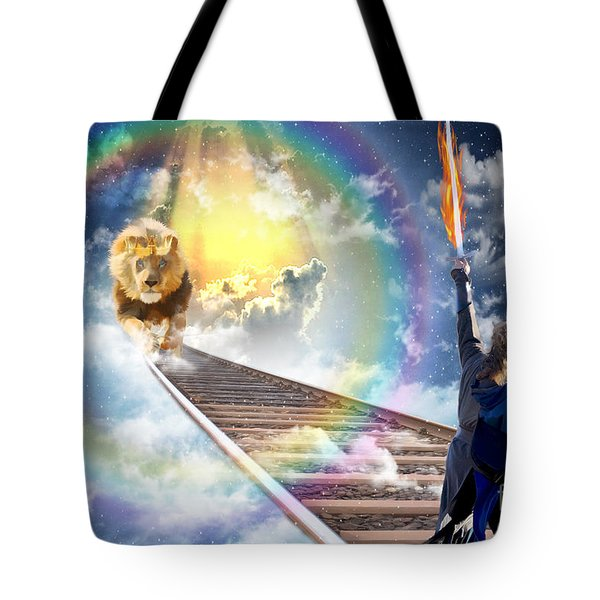 Tote Bag featuring the digital art Reward by Dolores Develde
