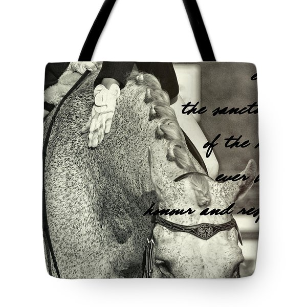 Reward Quote Tote Bag