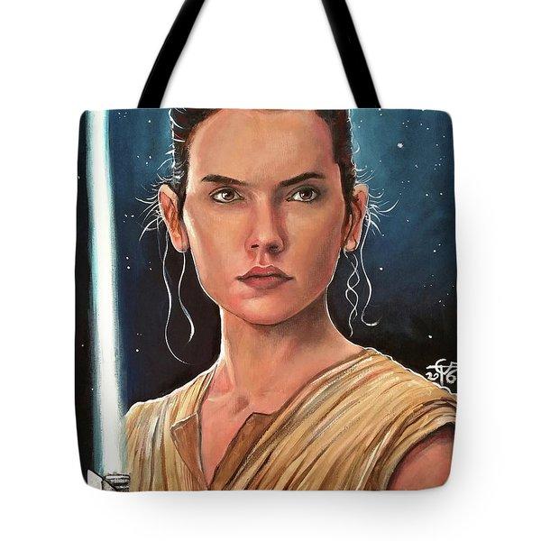 Rey Tote Bag by Tom Carlton
