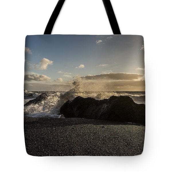 Tote Bag featuring the photograph Reynisdrangar by James Billings