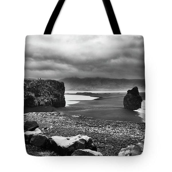 Reynisfjara Tote Bag by Wade Courtney