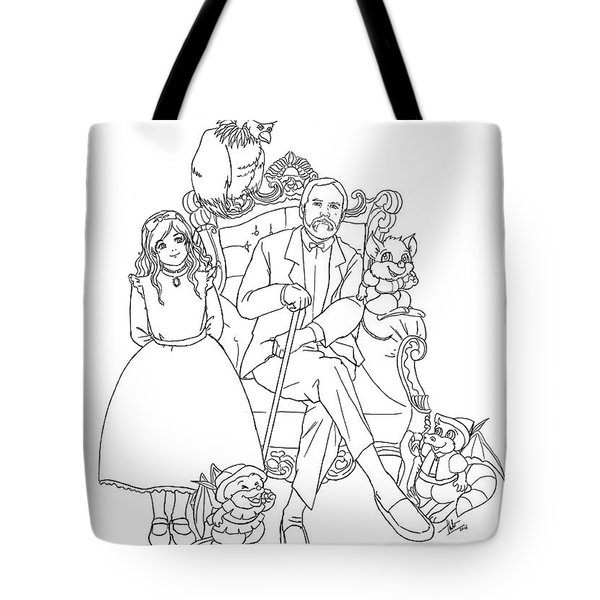 Reynold Jay, Duy Truong, And A World Of Imagination Tote Bag