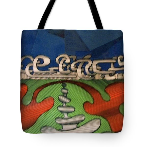 Tote Bag featuring the drawing Rfb0102 by Robert F Battles