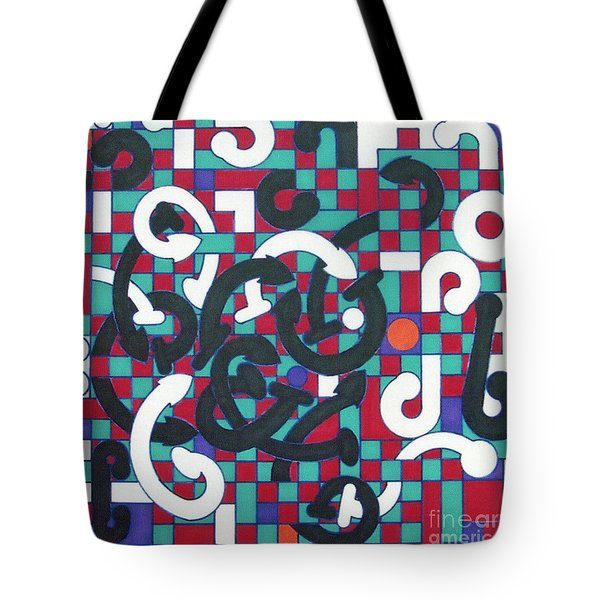 Tote Bag featuring the drawing Rfb1008 by Robert F Battles
