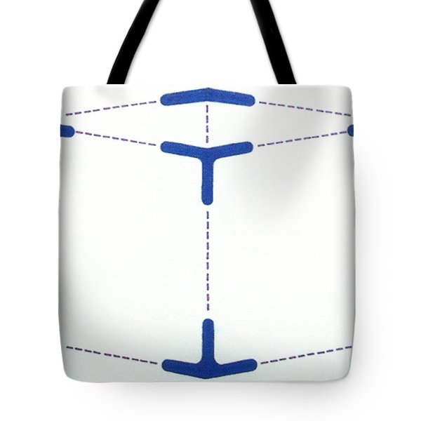 Tote Bag featuring the drawing Rfb1010 by Robert F Battles
