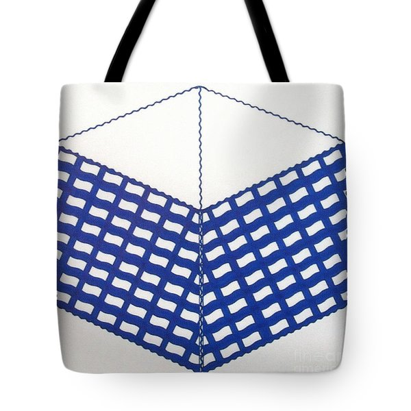 Tote Bag featuring the drawing Rfb1013 by Robert F Battles